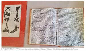 """Archives d'Édouard Glissant, manuscrit du """"Discours Antillais"""""""